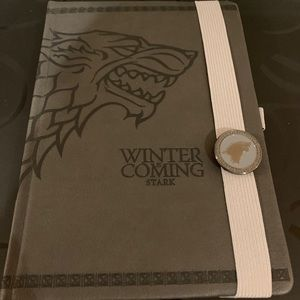 Game of Thrones Notebook/Journal NWT